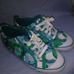 Super Cute Coach Tennis Shoes for Girls